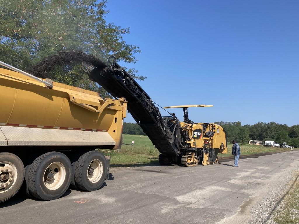 FEMA Road Work